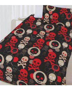 Skull Quilt Cover Set