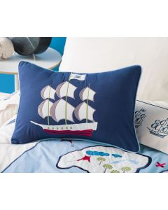Treasure Map Oblong Cushion