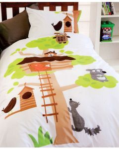 Tree House Quilt Cover Set