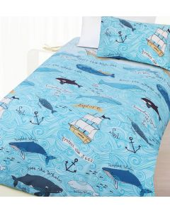 Whales Quilt Cover Set
