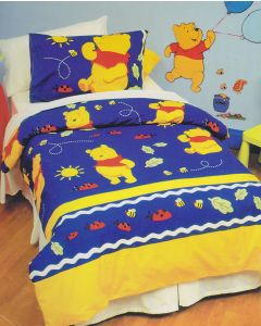 Winnie the Pooh Happy Quilt Cover Set