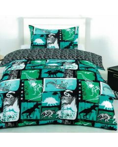 Xray Dino Quilt Cover Set