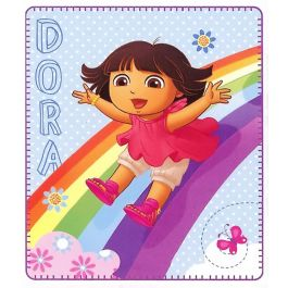 Dora The Explorer Rainbow Fun Blanket Dora The Explorer