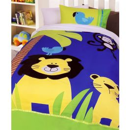Jungle Quilt Cover Set Jungle Bedding Kids Bedding Dreams