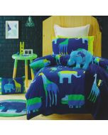 Animal Patch Quilt Cover Set