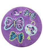 Butterfly Lantern Floor Mat