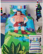 Croc Hunter Quilt Cover Set