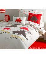 Stegosaurus Duvet Cover