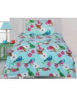 Summer Birds Comforter Set