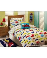 Traffic Jam Quilt Cover Set