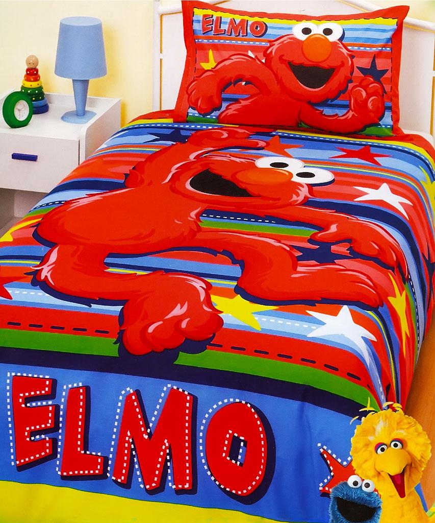 Elmo Stars Quilt Cover Set
