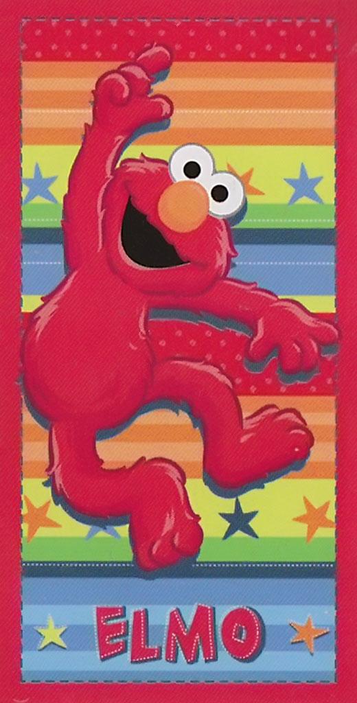 Elmo Towel