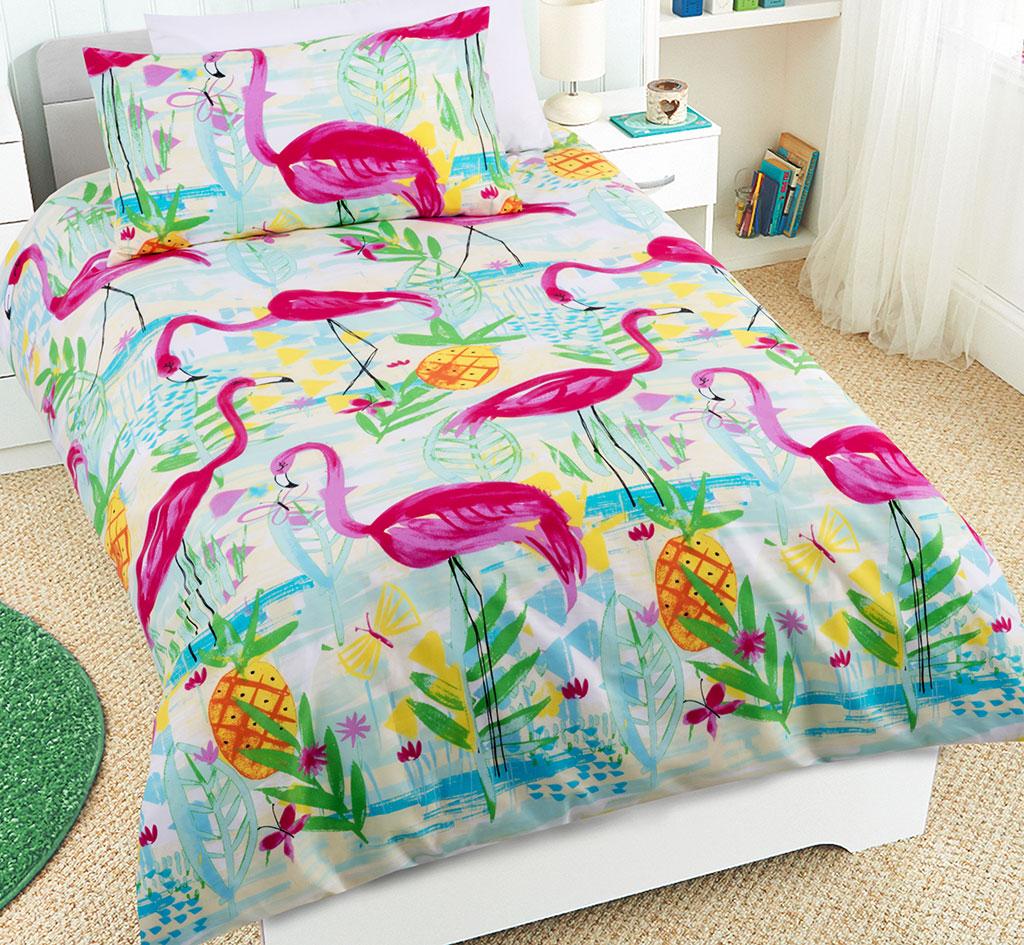 Flamingos Quilt Cover Set