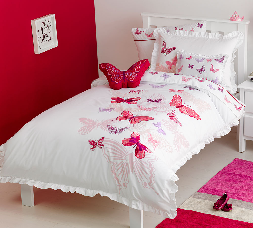 Fly Butterfly Quilt Cover Set