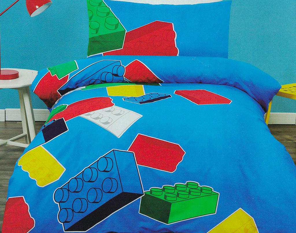 Lego Blocks Quilt Cover Set