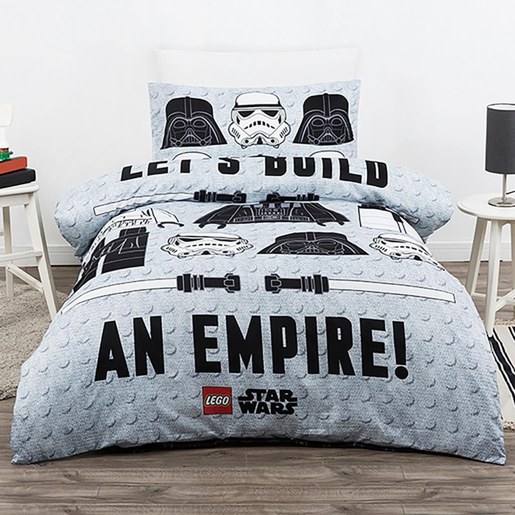 Lego Build an Empire Quilt Cover Set