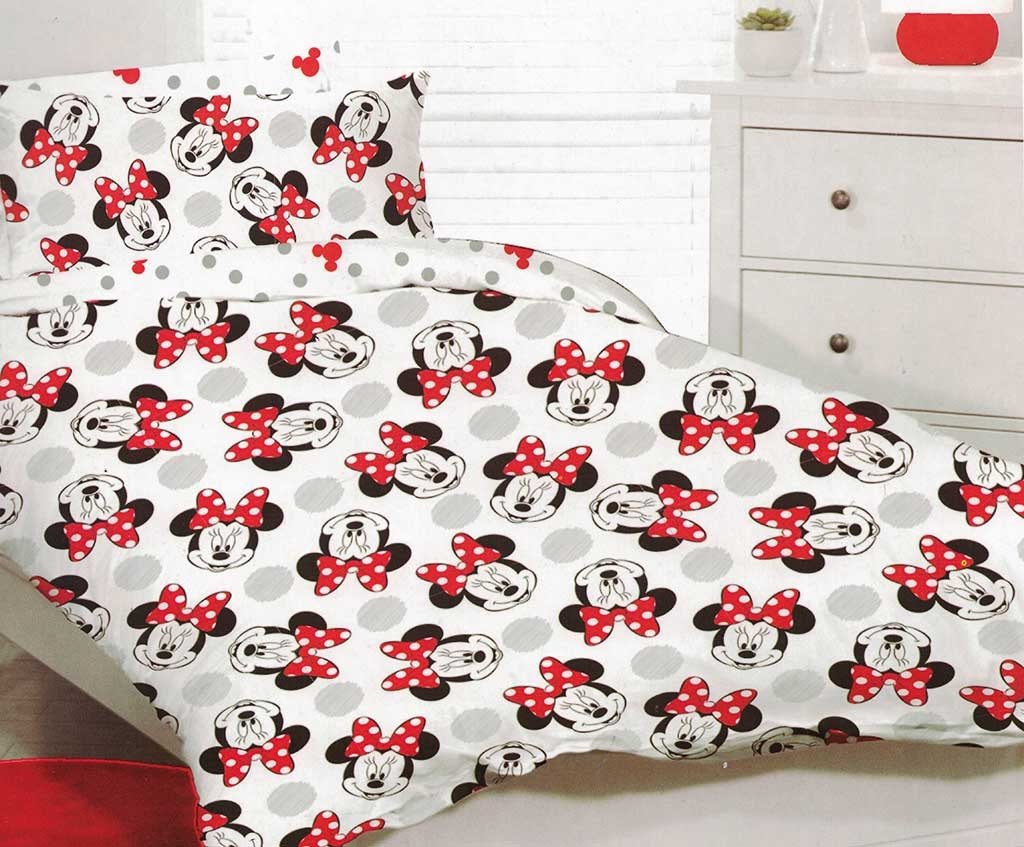 Happy Minnie Quilt Cover Set