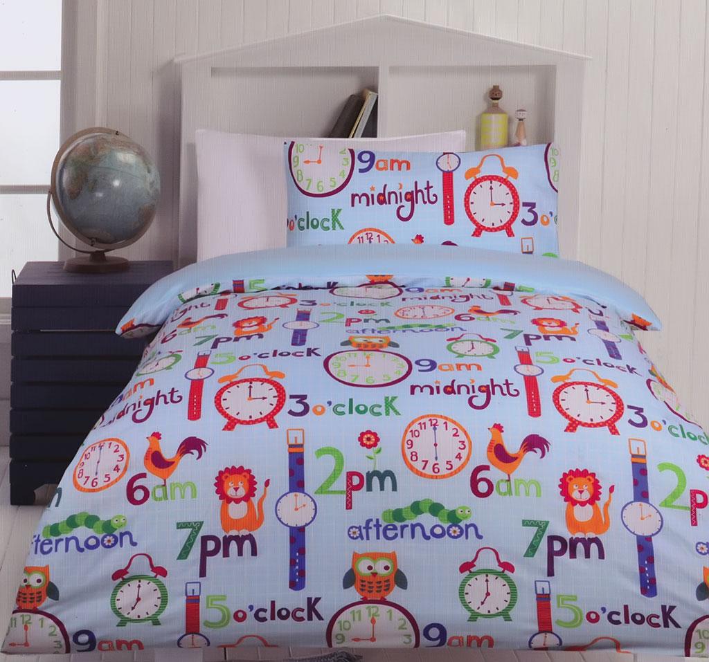O Clock Quilt Cover Set