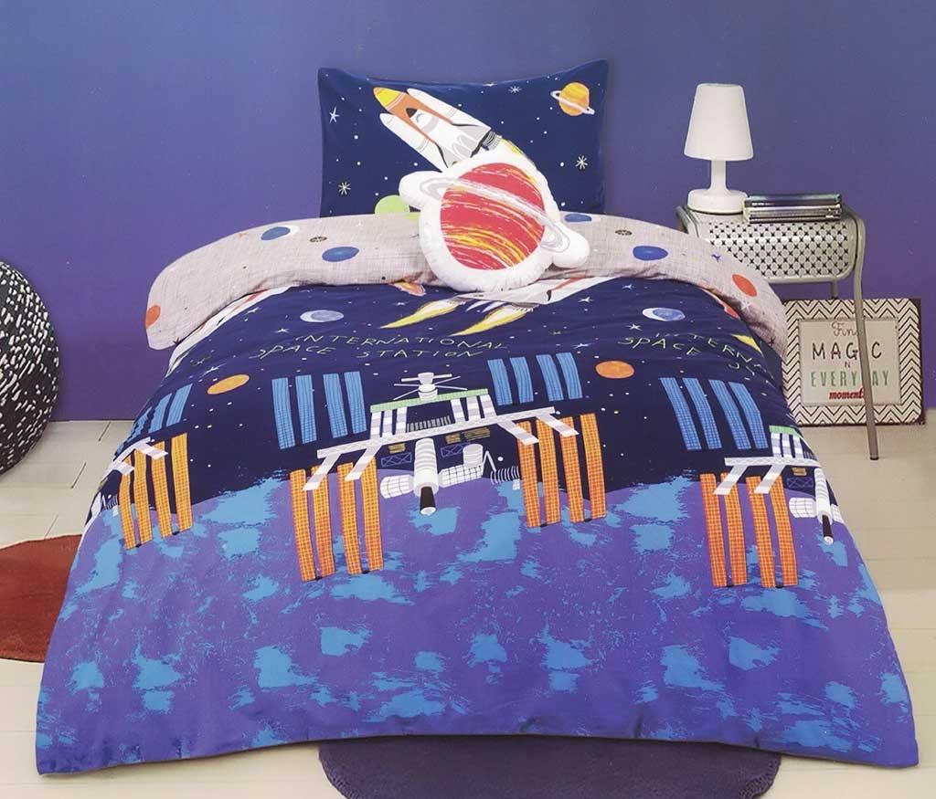 Rocket Quilt Cover Set