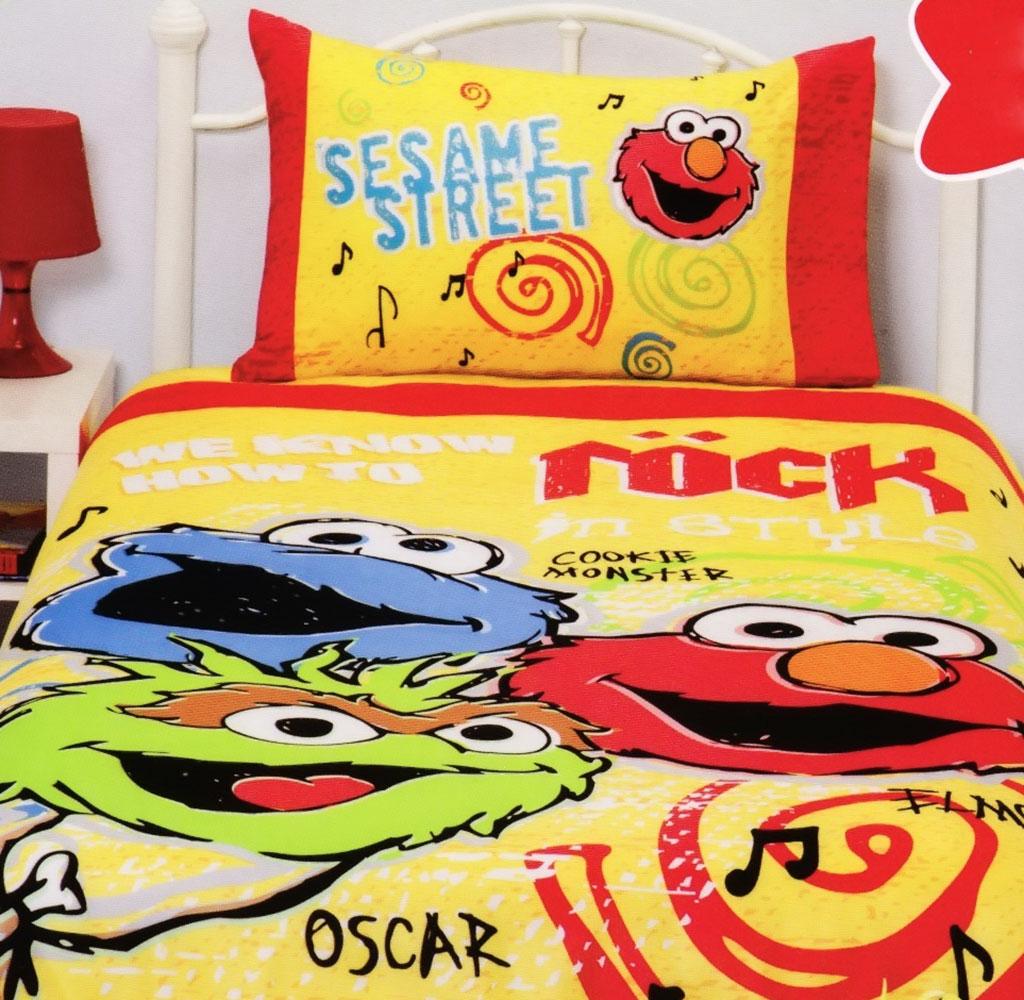 Sesame Street Rock Quilt Cover Set