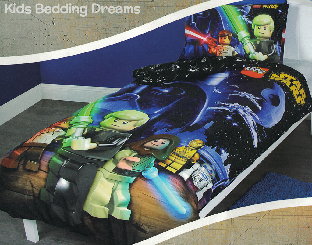 Lego Star Wars Quilt Cover Set