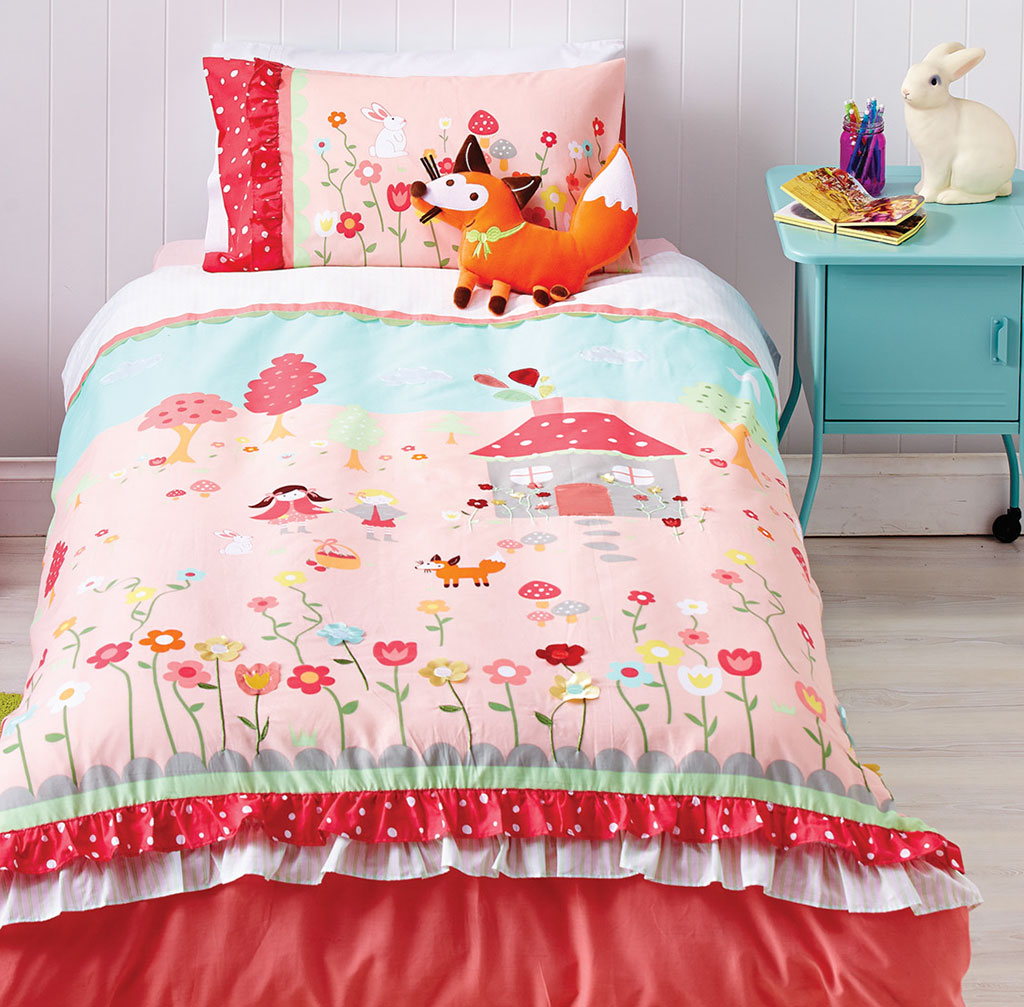 Storybook Quilt Cover Set