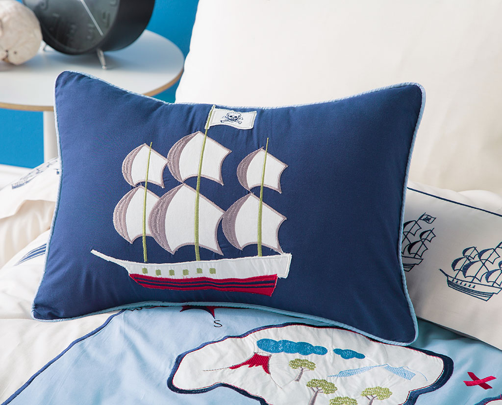 Treasure Map Cushion